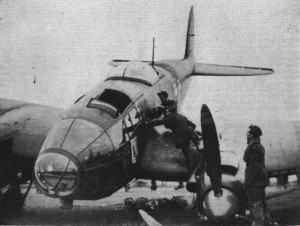 Heinkel 111 bomber brought down at North Berwick